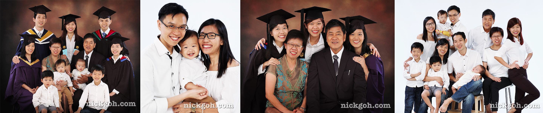 3 Generations Family and Graduation Photography -- Nick Goh Photo Studio, Singapore